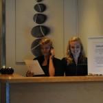 Salongen - Receptionen